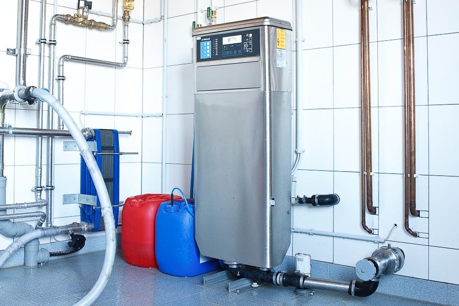 Reinigungsautomaten für DeLaval Melk- und Kühlanlagen