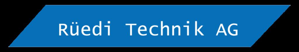 Logo Rüedi Technik AG